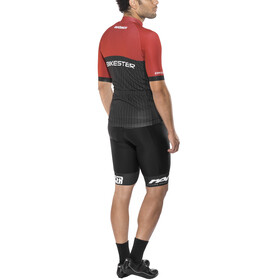 Bikester Pro Race Miehet Asukokonaisuus , punainen/musta